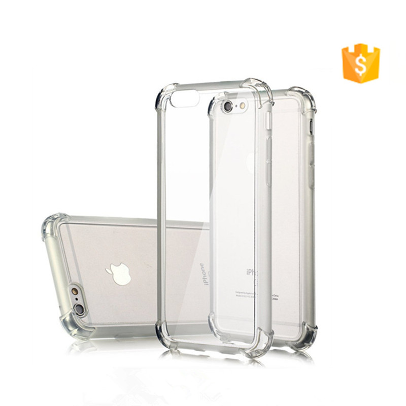 For iPhone 7 Case Hybrid Clear Back Shockproof TPU Transparent+ Stylish Mobile