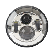 "Hot sale!!! Jeep 7"" led headlight, Round 47W 7 inch led headlight"