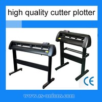 high quality servo motor cutter plotter with auto contour cutting function