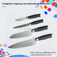 4PCS Stainless Steel Chef Knife Damascus Knife Set