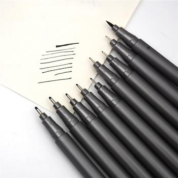 Hand painting fine line metal needle tip art drawing pen set for Comics Manga Scrapbooking