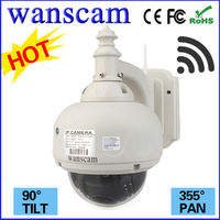 HW0028 Shenzhen Wanscam 720P PTZ Camera Dome Camera IP Megapixel 3 Times Optical Zoom Wifi IP Cam