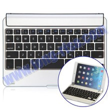Hot Sale Ultrathin Aluminium Alloy Bluetooth Keyboard for iPad Mini/Mini 2 Retina/Mini 3 with Magnetic Slot