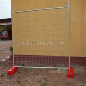 plastic security privacy fences pvc garden temporary fencing