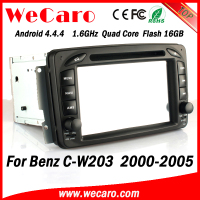 Wecaro WC-MB7507 Android 4.4.4 car dvd player HD 2 din for mercedes w203 radio 2000 - 2005 BT gps 3g TV