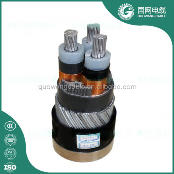 price high voltage power cable/aluminium high voltage cable