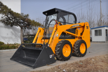 Mini skid steer loader,china bobcat,engine power 60hp,loading capacity 700kg