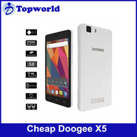 2015 hottest phone Doogee X5 Phone Doogee cheapest phone 4.7 inch Android 5.1 Quad Core Dual Sim Card