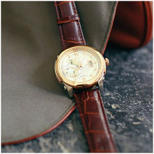 2012 chronograph design and generous luxury newest quartz watch