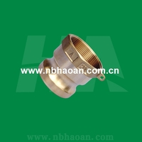 Brass camlock coupling quick joint connect pipe fittings