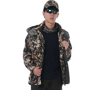 winter military camo hunting camouflage jacket