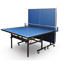 Indoor professional MDF foldable and movable table tennis table