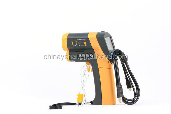 USB interface gun type non-contact Digital Infrared Thermometer YH70
