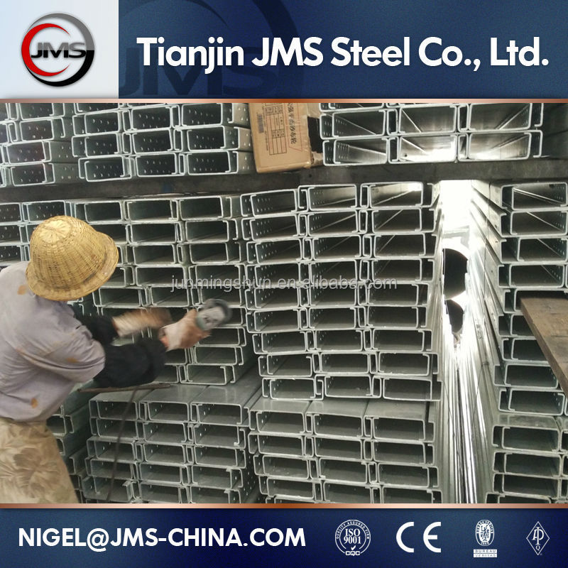 Galvanized C Purlin Steel C Profile