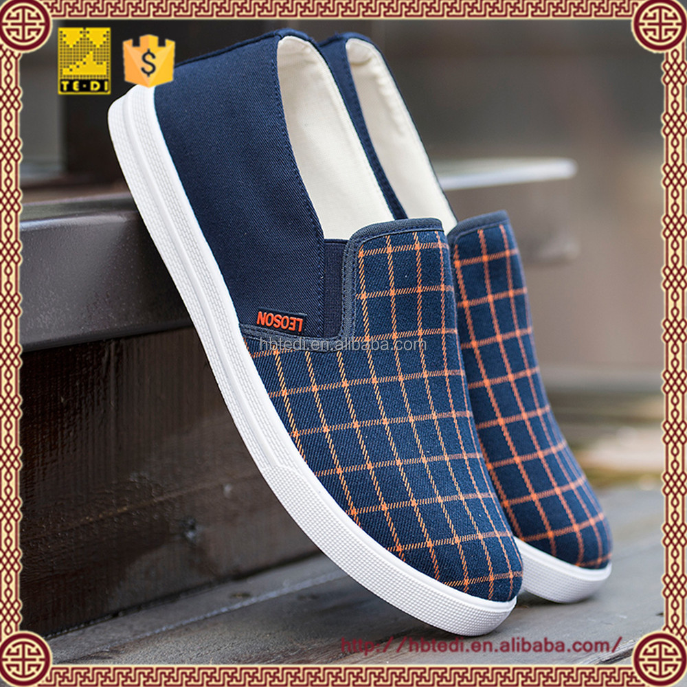 comfort walk shoes cheap cloth loafer shoes for men