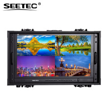 "Top sell 28"" Professional Broadcast video camera monitor with Multiple Inputs and Outputs 4k display 60hz for director"