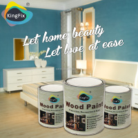 KINGFIX Brand eco-friendly wood furniture paint for all furnitures