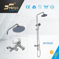 Meiya 3 function High Quality Wall mounted Rain Shower Set shower unit