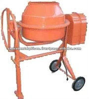 Manual concrete mixers