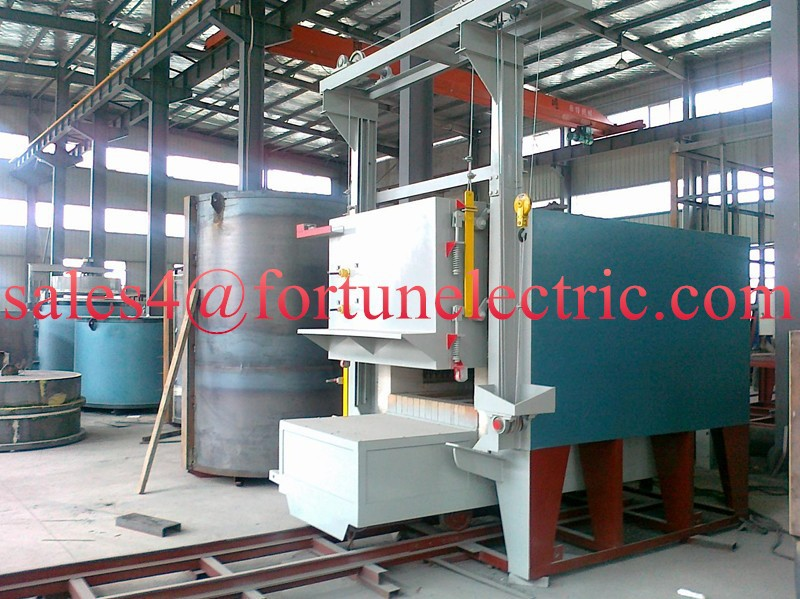 Electric heat treatment resistance furnace