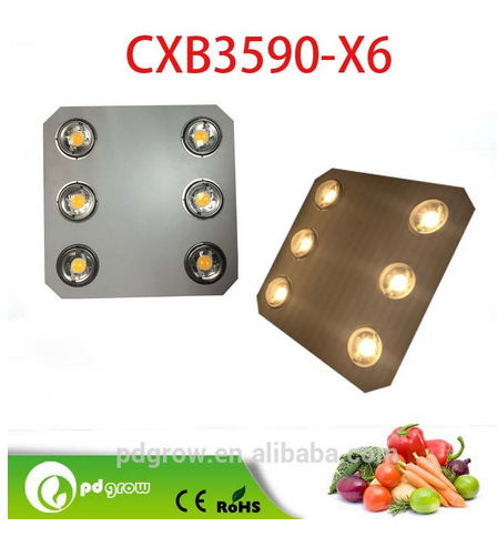 vegatables/plants/flowers grow led light 600watt plant light 100w chip bridgelux/epistar led grow light kits