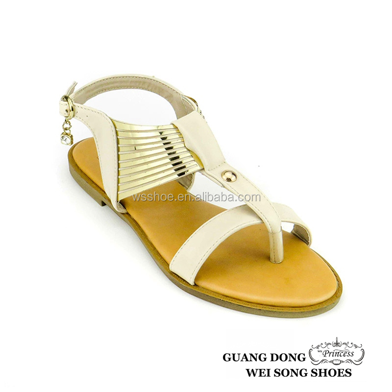 prompt delivery factory direct sale thong flat sole comfortable woman slipper lady sandal