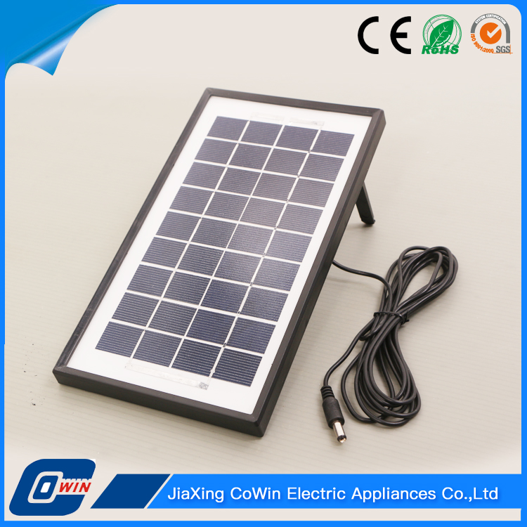 China Supplier The Lowest Price 3.5W Indoor Solar Light Kit Panel