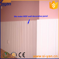 MDF low cost white faux brick wall panels