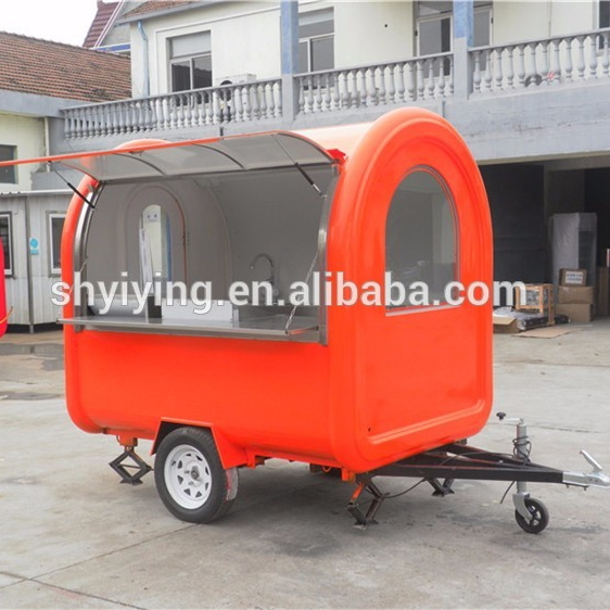 factory suppliers new products food vending carts for sale