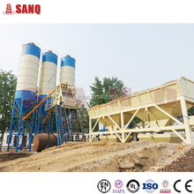 HZS60 60m3/h small rmc concrete batching plant price