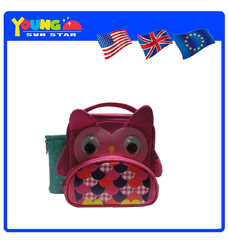 Fashion little animal shaped lunch cooler bags for kids