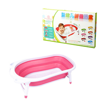 Hot sale new design Folding Baby child Bath Tub