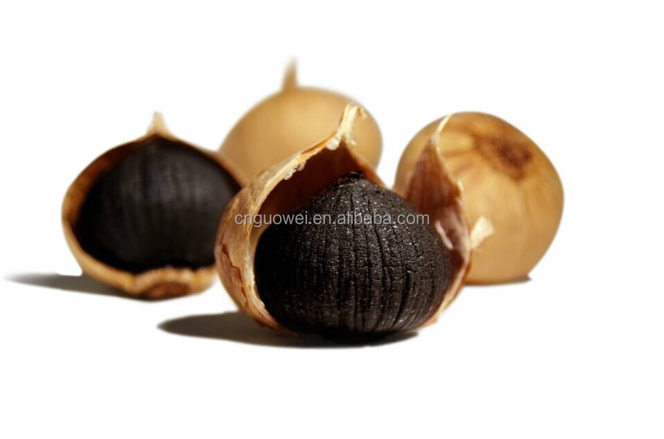 Fermented best qualified organic whole Black Garlic