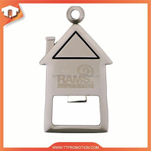 2015 custom zinc alloy bottle opener with high quality