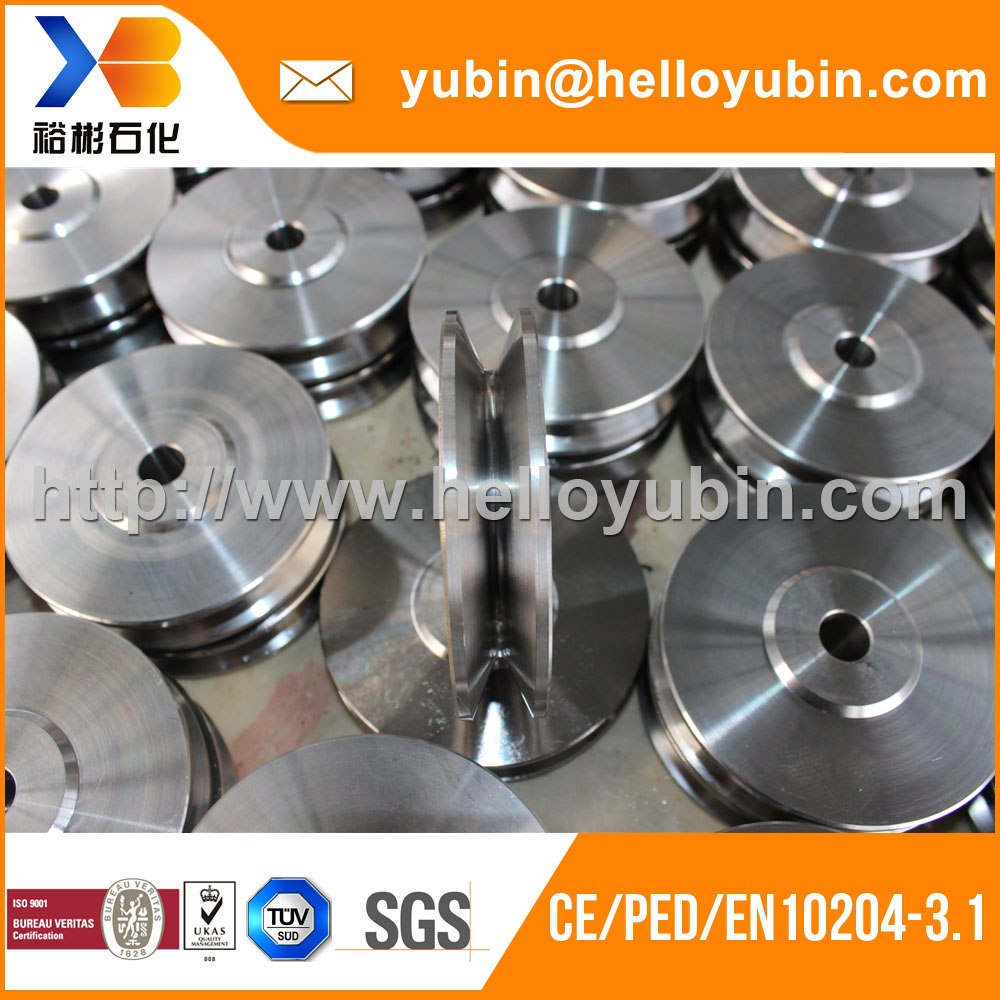 Custom high precision forged metal drawing machinery parts with TUV certificate