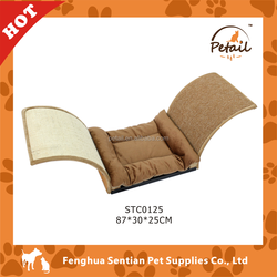 Cat Bed with Scratching Sisal Mat Cat Cushion Cat Bed