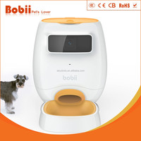Bobii auto pet feeder pet toy pet lover controled by wifi remote