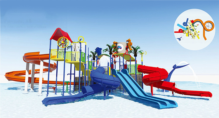 Largest water slide guangzhou china,water slide suppliers HF-G125B