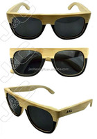 2015 high quality custom wood sunglasses and china glasses suppliers with bamboo free case and logo
