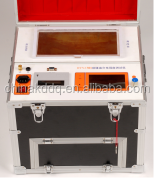 oil analysis equipment with IEC standard