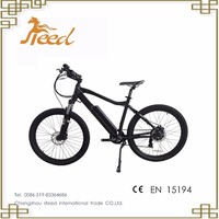 36V dirt e cycle electric bike with disc brake