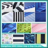 Chinese textile and fabric material waterproof firproof 100% polyester fabric for outdoor furniture