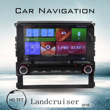 7inch Touch Screen 2 din toyota land cruiser car dvd