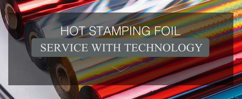 High hot stamping foils for picture frames