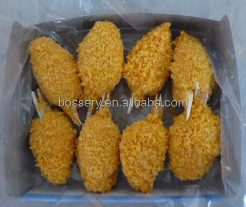 frozen breaded surimi crab claw