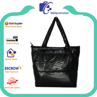 Stylish black polyester taffeta ladies wholesale mk handbags