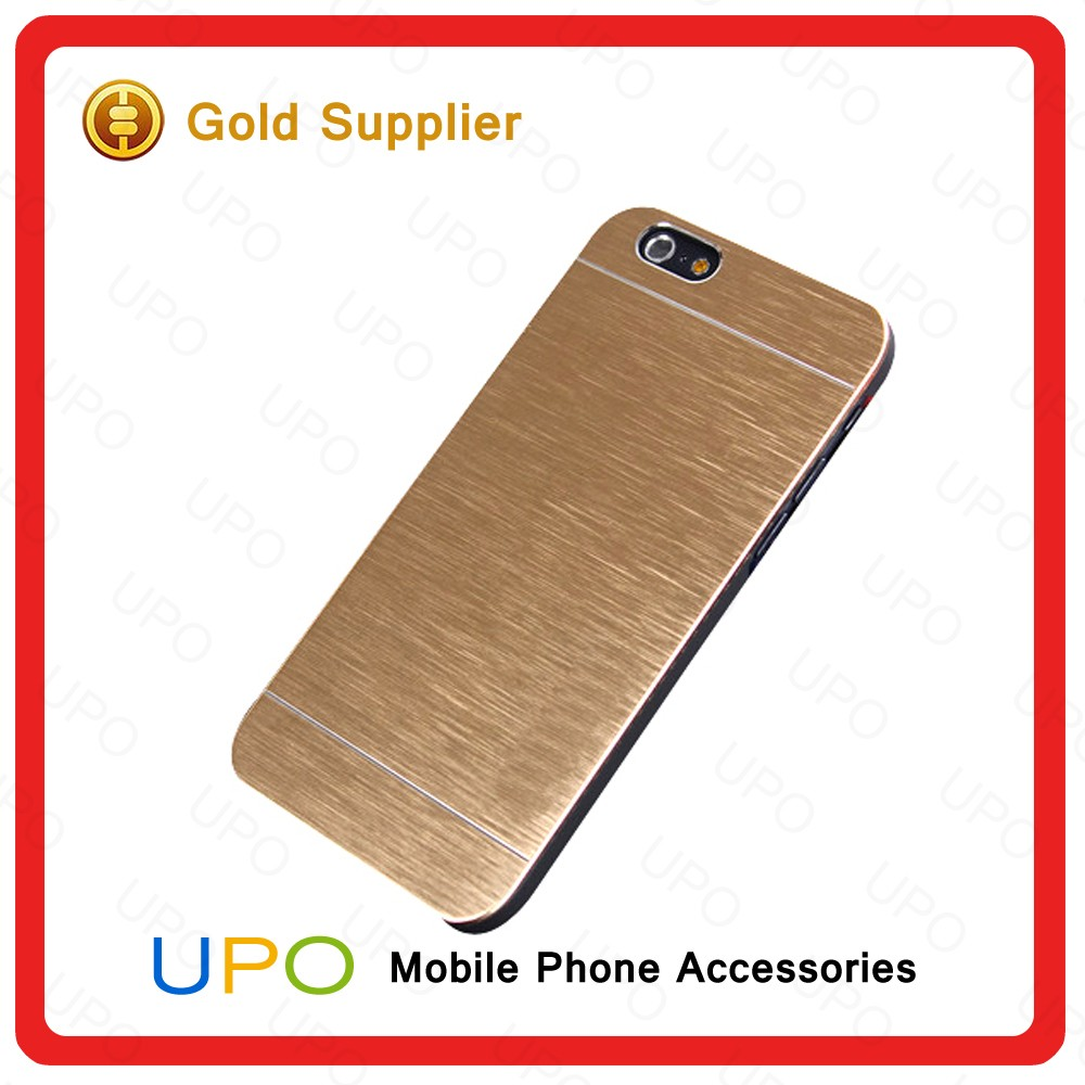 [UPO] Ultra Thin Brushed Aluminum PC Hard metal case for Iphone 6 Back cover