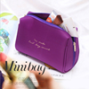 Beautiful Customize Logo Design Cosmetic Beauty Bag And Cased With Handle