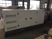 water-proof generator set 128kw 160kva