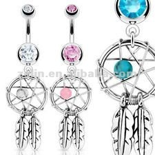 16g belly button rings with turquoise designer best friend navel rings body piercing jewelry